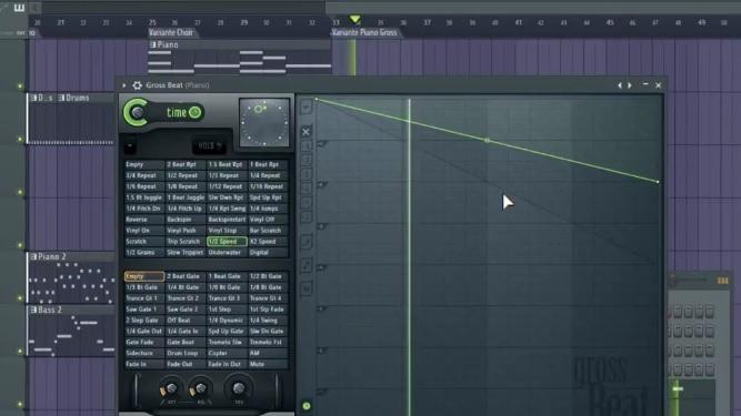 comment faire des variantes dans un beat