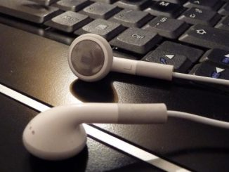 mixer avec des ecouteurs