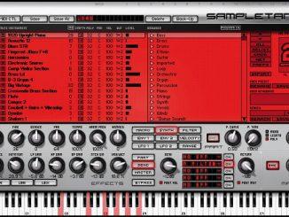 utiliser plusieurs instruments sur sampletank 2