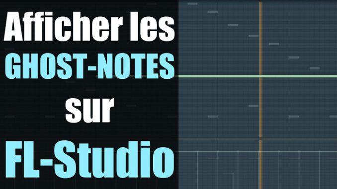 comment afficher les notes des autres instruments sur le piano roll