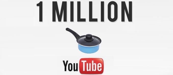 une casserole fait un million de vue